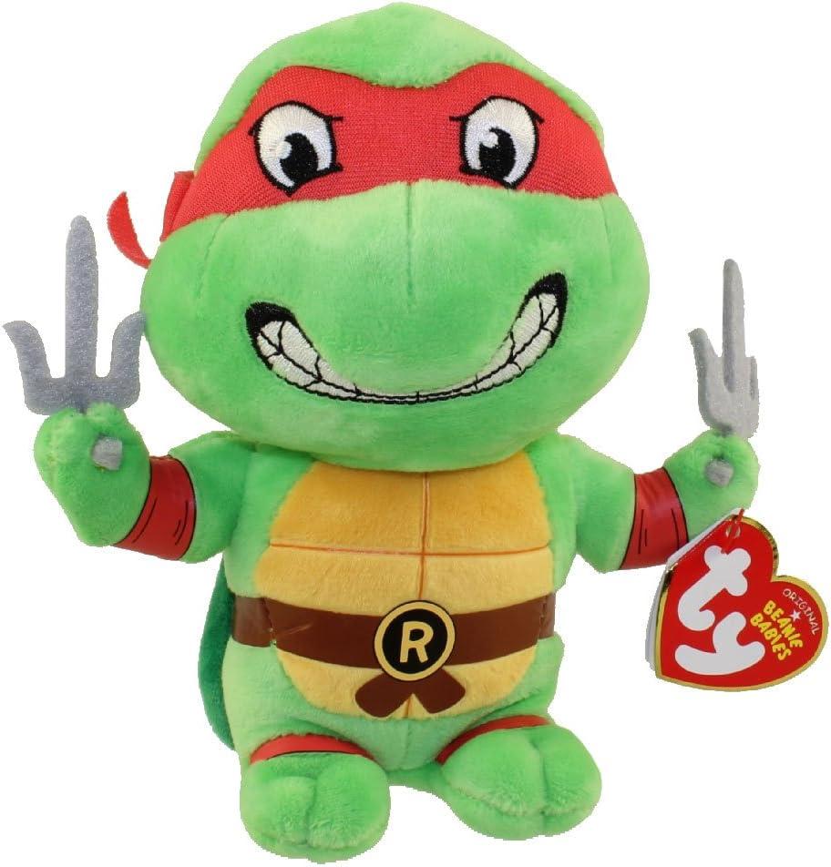 TY Beanie Baby - RAPHAEL (Teenage Mutant Ninja Turtles)