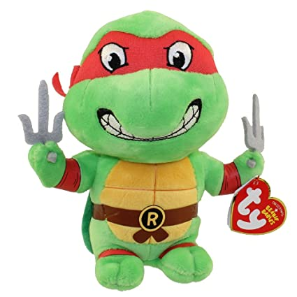 3d2dbf1331a Amazon.com  TY Beanie Baby - RAPHAEL (Teenage Mutant Ninja Turtles)  Toys    Games