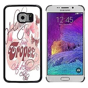 Dragon Case - FOR Samsung Galaxy S6 EDGE - makes you happy - Caja protectora de pl??stico duro de la cubierta Dise?¡Ào Slim Fit