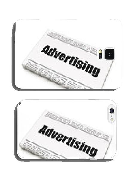 Marketing concept: newspaper HeadLine de publicidad móvil carcasa Parent Item