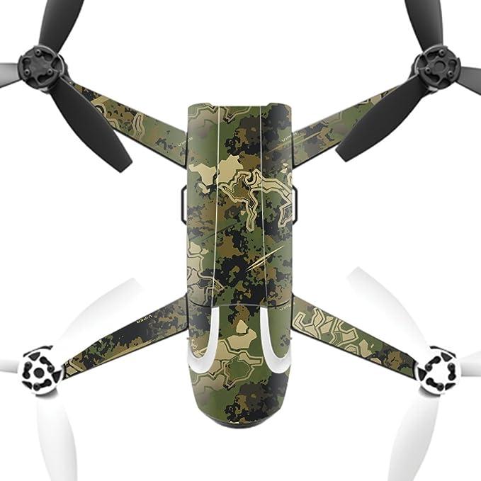MightySkins carcasa Skin de vinilo para Parrot Bebop 2 Quadcopter ...