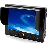 """Full HD Video Kamera DV DC HDMI 1080P YPbPr Lilliput 667GL 7"""" LCD Monitor NEU"""