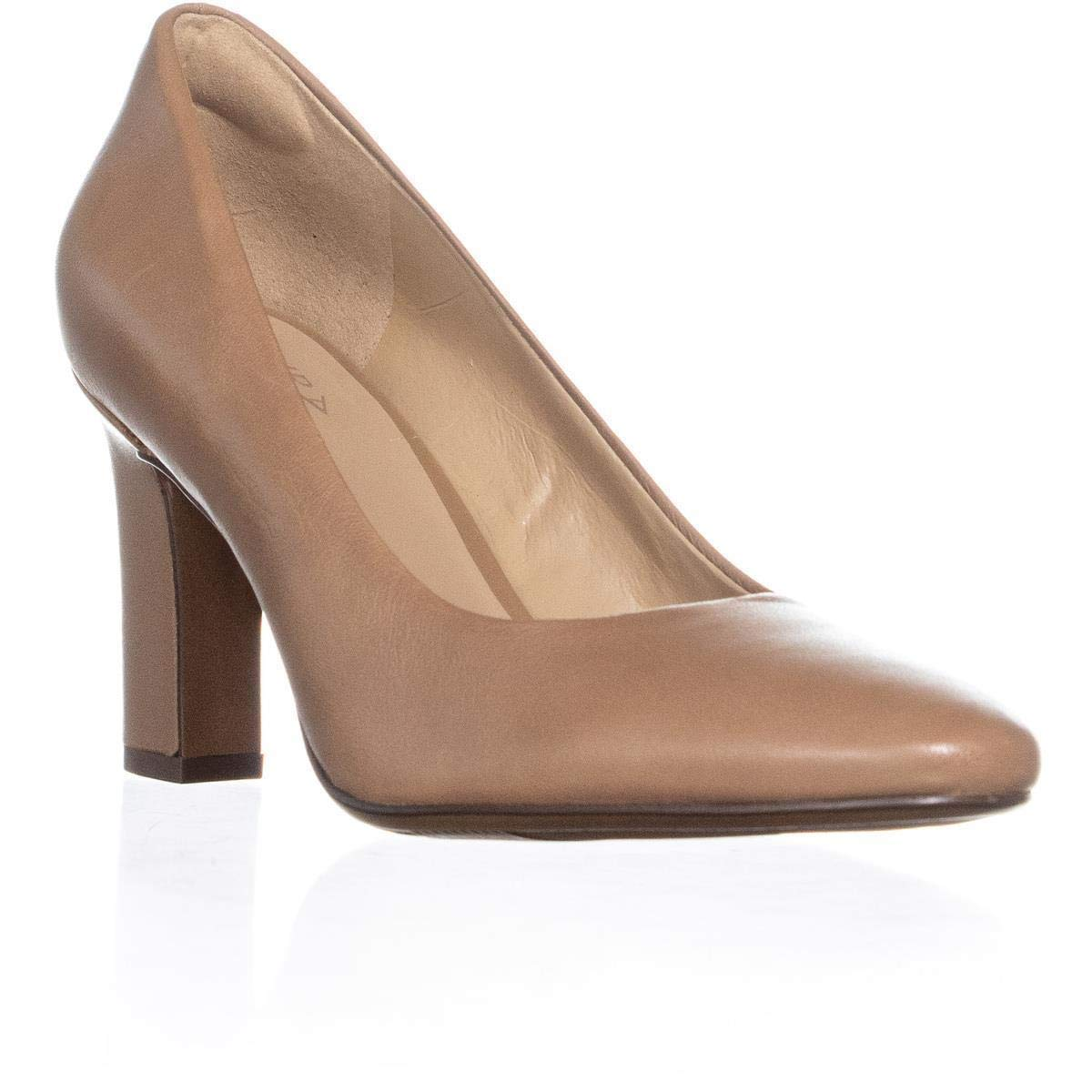 Barley Leather Naturalizer Women's Gloria Pump