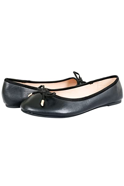 speical offer wide selection of colours and designs unique style Yours Clothing Wide Fit Women's Ballerina Pumps In Eee Fit