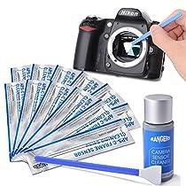Rangers カメラクリーニング用品 12個APS-Cセンサースワブ+15ml...