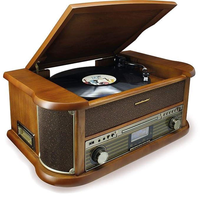 Soundmaster NR546BR Radio Digital estéreo Dab+/FM Vintage con ...