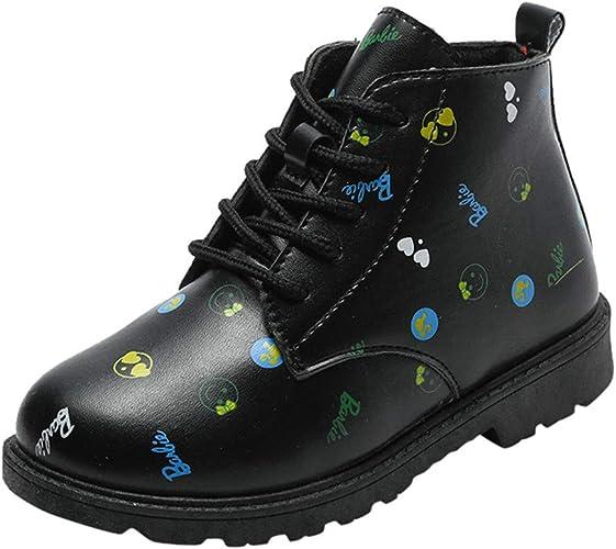 Baohooya Zapatos de Bebé Niña Invierno - Botas Casuales con ...
