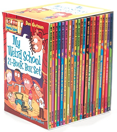 Books : My Weird School 21-Book Box Set