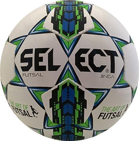 Select Sport America Jinga - Pelota de fútbol, Color Blanco ...