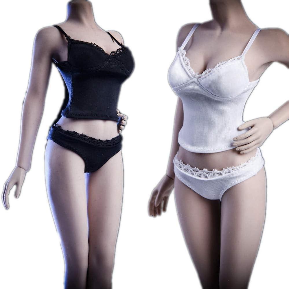 "1//6 One Piece Underwear Lingerie Swimsuit For 12/"" Phicen TBLeague Female Figure"