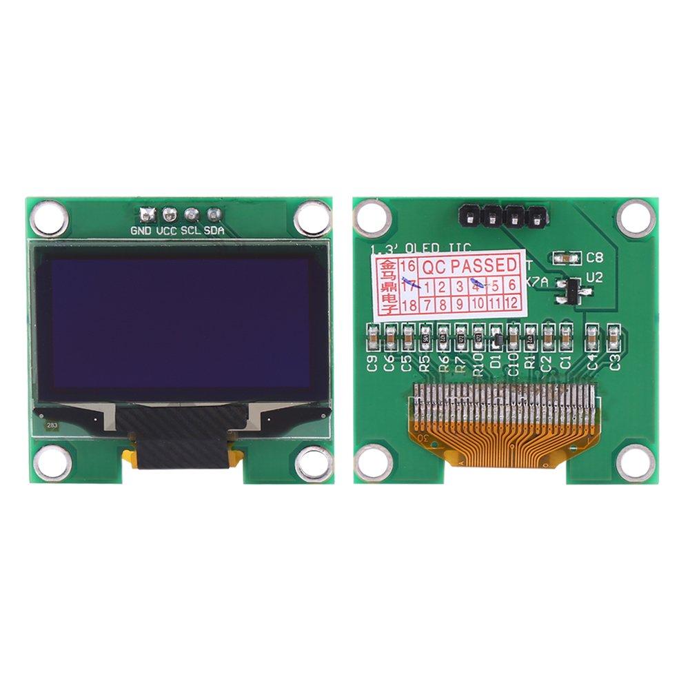 1,3 128 /× 64 IIC I2C SPI OLED Display Modulo di Visualizzazione Carattere Blu