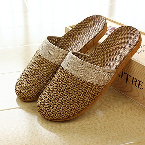 slippers 43 muted home slip d Baotou fankou couples male Ms stay Summer a room anti floor 42 cool with qxATSZx