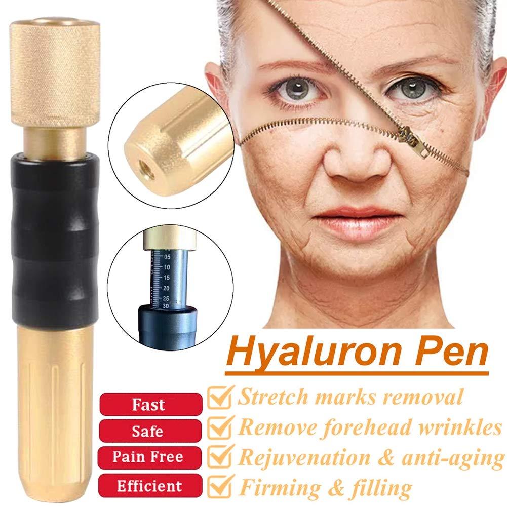0.3ml Hyaluronic Injection Pen Massage Atomizer Pen Kit High Pressure Acid Guns Remove Wrinkle Water Syringe No Needle Injection