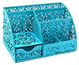EasyPAG Cute Office Desk Organizer Desktop Accessories Teal Deal (Small Image)