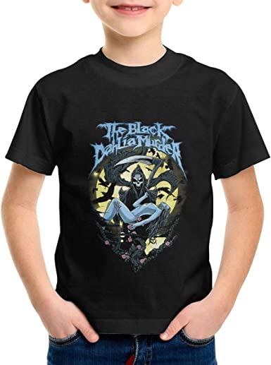 The Black Dahlia Murder T Shirt Youth Boy Shirt Round Neck Short Sleeve Tees