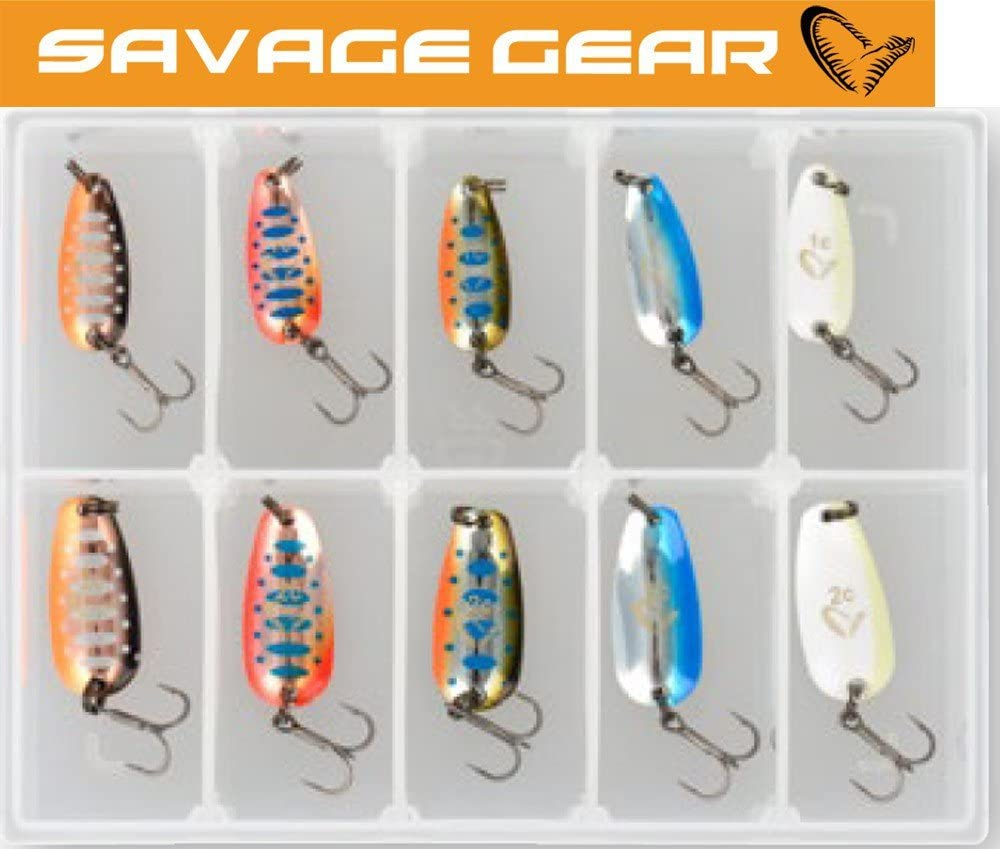 Savage Gear Nails micro cuiller Kit 2.5g//3.5g