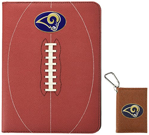 GameWear NFL St. Louis Rams Classic Football Portfolio & ID Holder Gift Pack, One Size, Brown ()