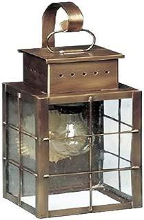product image for Brass Traditions 421 SHBAB Medium Wall Lantern 400 Series , Antique Brass Finish 400 Series Wall Lantern