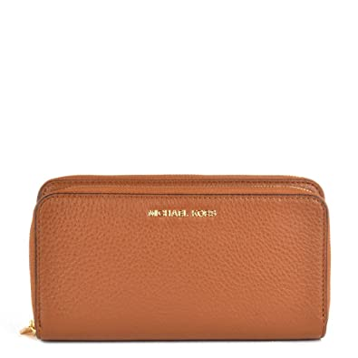 0ca359d36fbcf MICHAEL Michael Kors Adele Tan Double Zip Wallet one size Tan ...