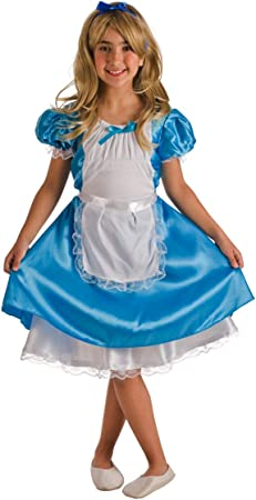 Disfraz de Alicia azul para niña: Amazon.es: Juguetes y juegos