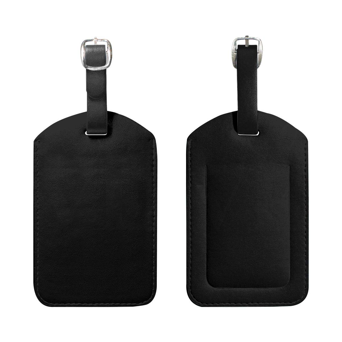 PU Leather Pack Luggage Tag Label Suitcase Tags For Men And Women Stop Loss Of Suitcases