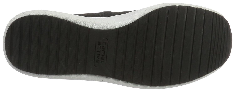 Camel active Damen Spring 71 Sneakers Grau Grau Grau (Lt.Grau/schwarz 01) 8c6aeb