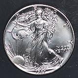 #6: 1987 1 oz Silver American Eagle Coin $1 Brilliant Uncirculated