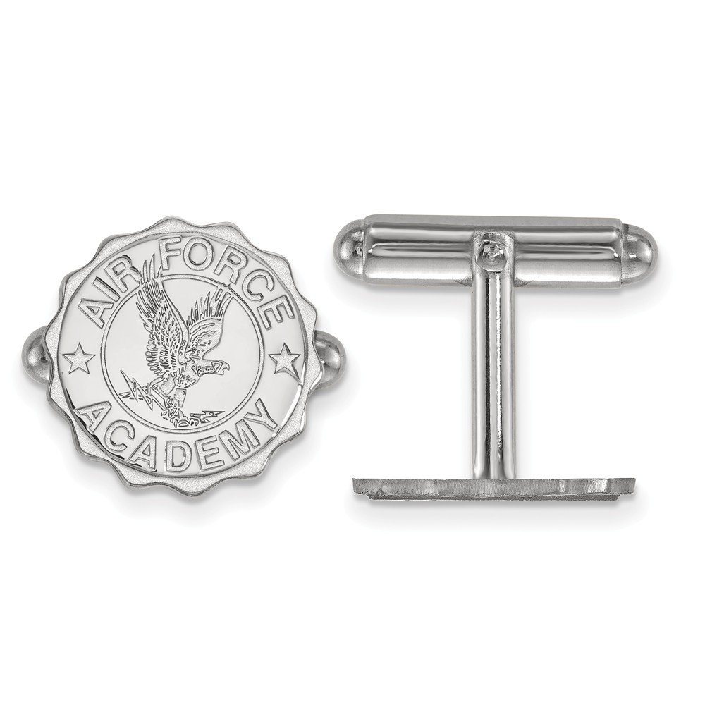 Air Force Crest Cuff Links (Sterling Silver)