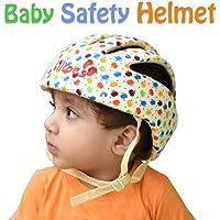 Liltoes Baby Safety Helmet, Print Apple