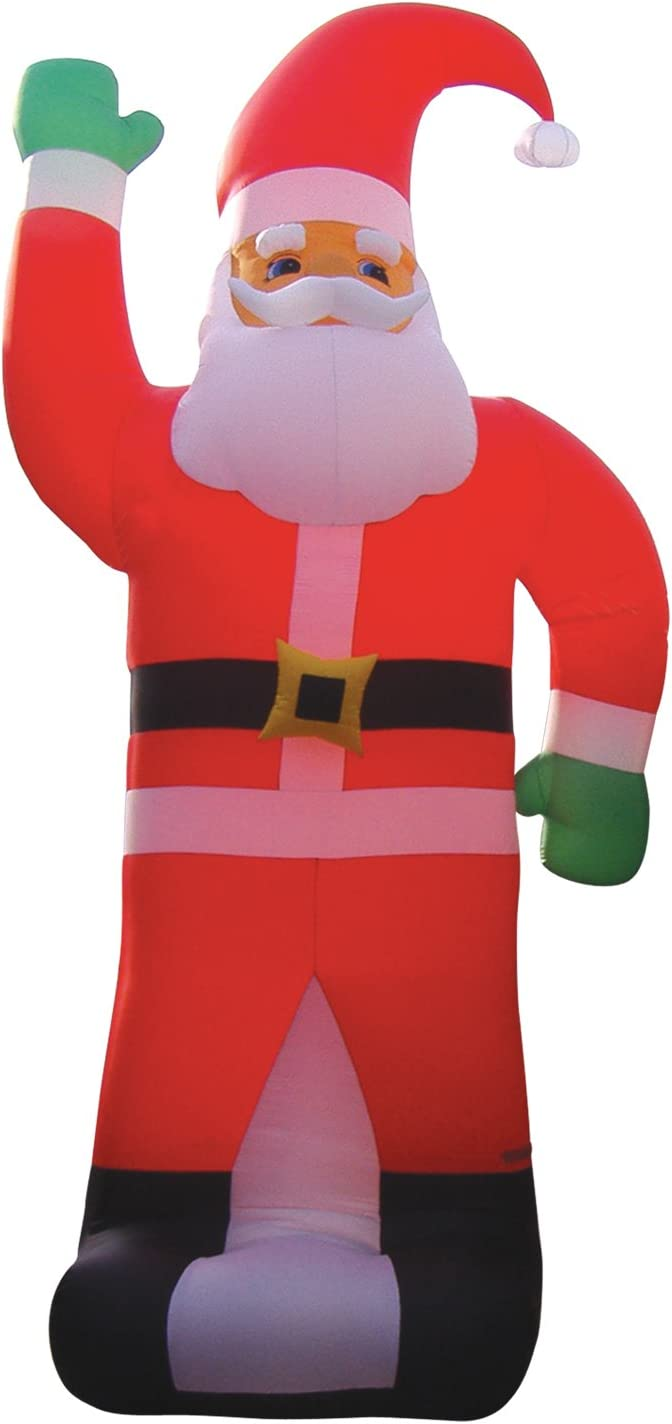 "B0145OG97O BZB Goods 236"" Huge Christmas Inflatable Santa Claus Party Outdoor Yard Holiday Blow up Blowup Lawn Decoration 61tQP9pMG4L.SL1500_"