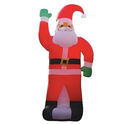 Attirant 236u0026quot; Huge Christmas Inflatable Santa Claus Party Decoration