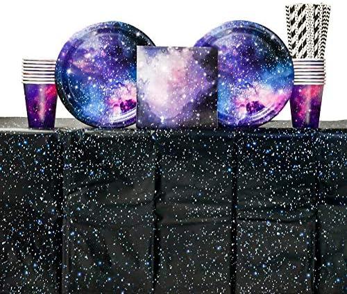 Galaxy Supplies Including Napkins Plastic