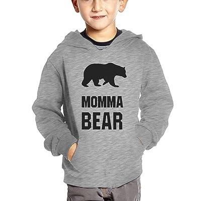 54c4867c2b DSAS Baby Kids Hoodies Sweatshirt, Momma Bear Toddler Hoodies Tops With  Pockets