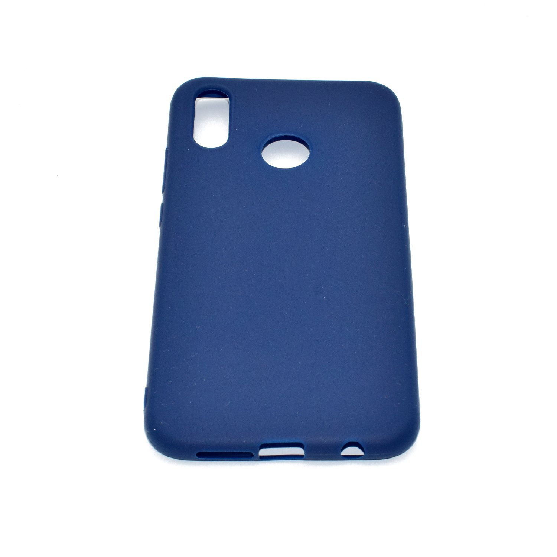 Bleu QINGLOU Huawei P20 Lite TPU Souple Housse de Protection Flexible Soft Case Cas Couverture Anti Choc Mince L/ég/ère Silicone Cove