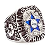 HTEGAE Mens The Year Of 1971 Dallas Cowboy Copper Championship Rings,Size 13