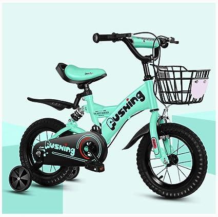 Xiaoping Bicicleta para niños 2-3-4-6-7 años Bicicleta de niña de ...