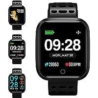 Fitness Tracker, KUNGIX Smartwatch Android iOS Orologio Fitness Intelligente Uomo Donna Bluetooth Smart Watch Braccialetto Sport Pedometro Monitor di Sonno Di Salute Impermeabile IP67