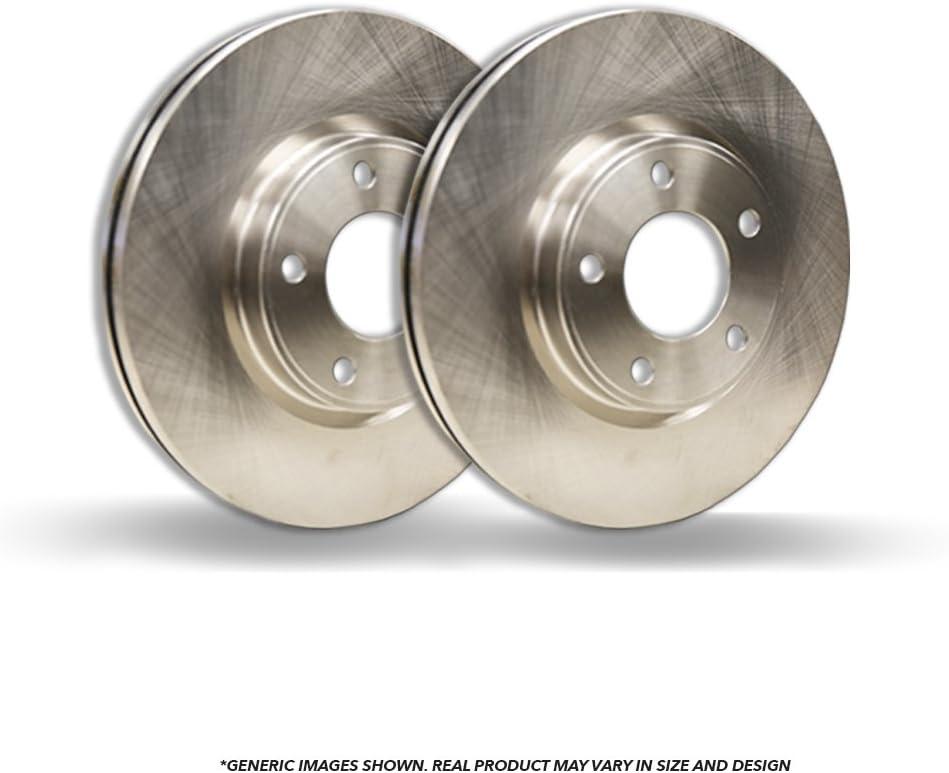Fits:- Fiesta 2 OEM Replacement Disc Brake Rotors 4lug Front Rotors Heavy Tough-Series