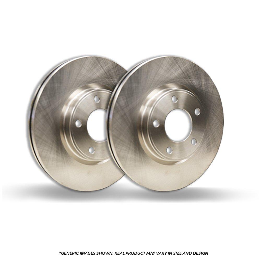 (Rear Rotors)(Heavy Tough-Series) 2 OEM Replacement Disc Brake Rotors(TSX Accord)(5lug)