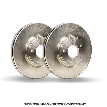 Front Rotors Fits: 5lug Disc Brake Rotors 2 OEM Repl High-End