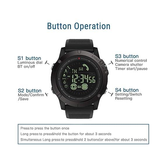 Amazon.com: New Zeblaze Vibe 3 Flagship Rugged Smartwatch 33 ...