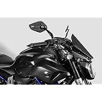 cuffslee Motorrad Einstellbare Windschutzscheibe Windschutzscheibe Spoiler Windschutz Luftabweiser F/ür Kawasaki Yamaha
