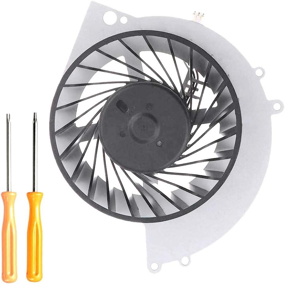 CUHAWUDBA Ksb0912He-Ck2Mc Ventilador de Enfriamiento Interno para Ps4 Cuh-12Xx Cuh-1215A Cuh-1215B Cuh-1200 Cuh-1200Ab01 Cuh-1200Ab02 Consola con Herramientas de ReparacióN