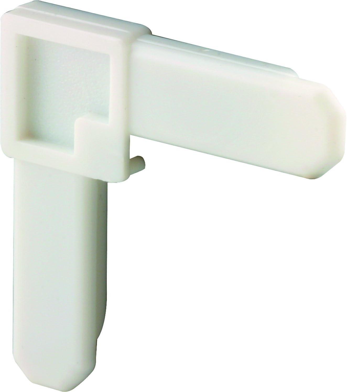 Prime-Line MP7729-50 Screen Frame Corner, 5/16-Inch x 3/4-Inch, White Plastic, Pack of 50, 50 Piece