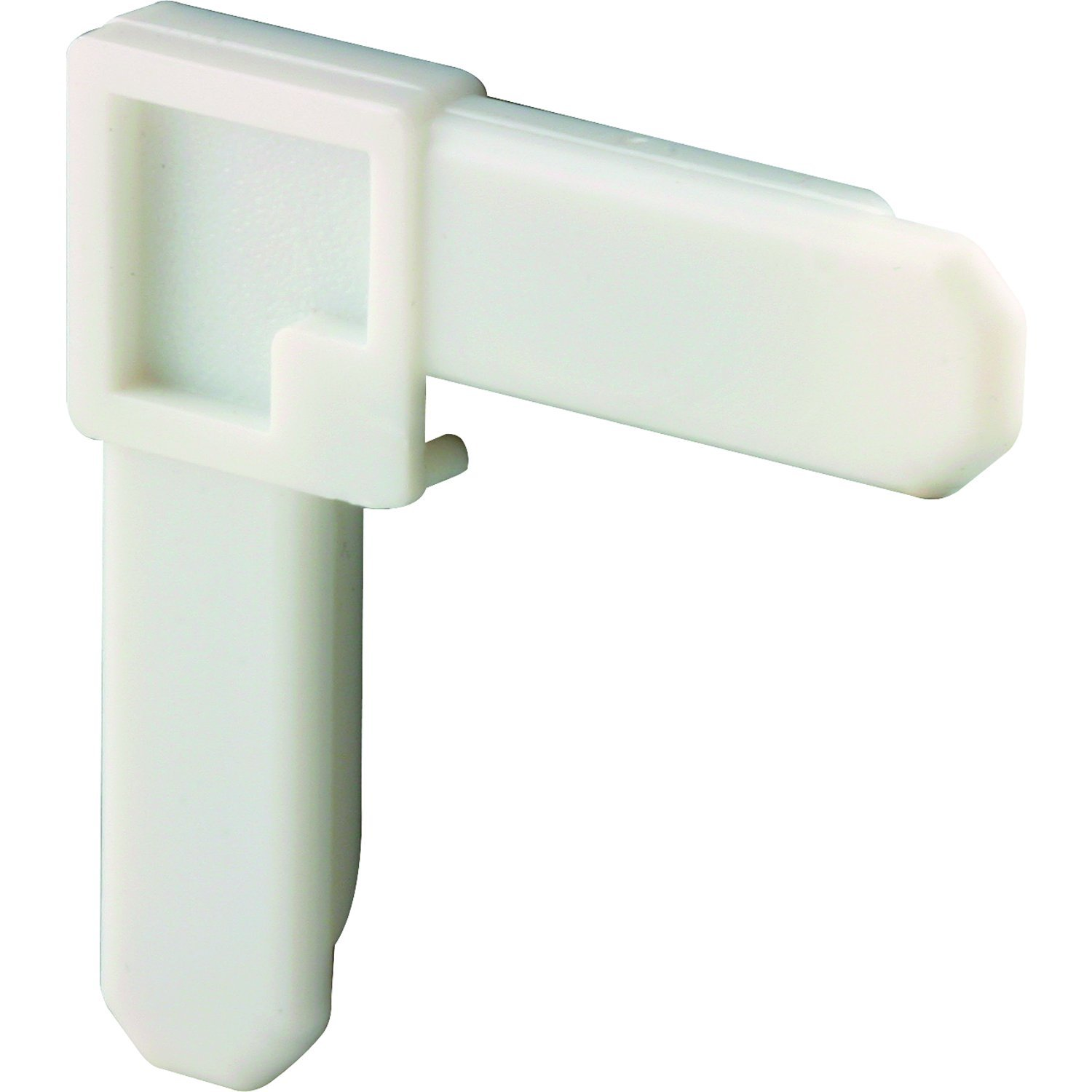 Prime-Line MP7720 Plastic Screen Frame Corner, 1/4 in. x 3/4 in, White Finish, (Box of 100)