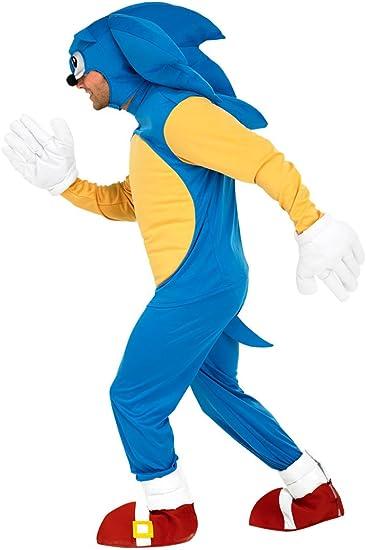 Sonic the Hedgehog Costume - Mens (disfraz): Amazon.es: Juguetes ...