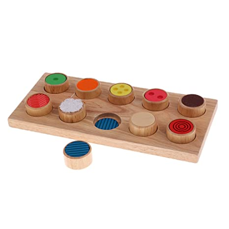 Home Well-Educated Montessori Educatioanl Wooden Toys For Children Early Learning Cylinder Matching Teaching Aids Sensory Montessori Materials Toy