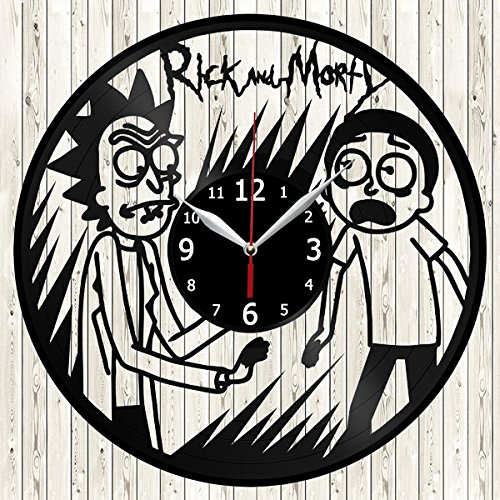 Reloj de Pared Rick y Morty Handmade