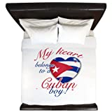 CafePress My Heart Belongs to A Cuban Boy King