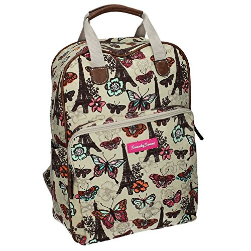 with Ladies iPad Womens Roche Tablet case Beige Butterfly Essex Backpack Bag Rucksack Print qx8SpX